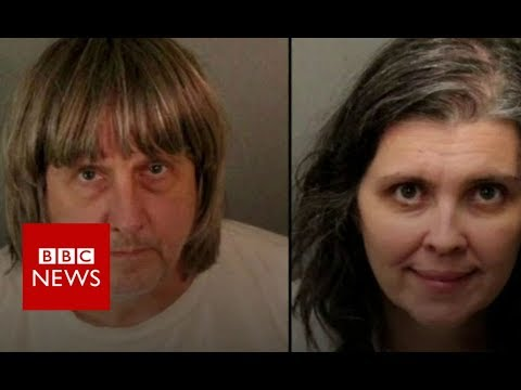 connectYoutube - California: Shackled siblings parents arrested - BBC News