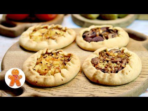 Бездрожжевые Пирожки и Много Разных Начинок ✧ Постные Пирожки