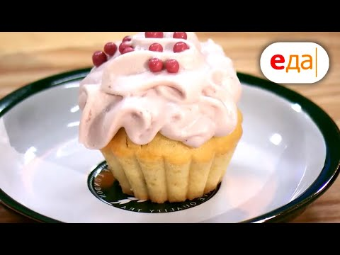 Розовые капкейки и печенье с шоколадом | Дежурный пекарь