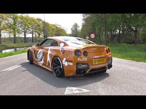 Nissan GT-R R35 – Brutal Acceleration!