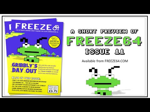 FREEZE64 fanzine issue 11 for the Commodore 64