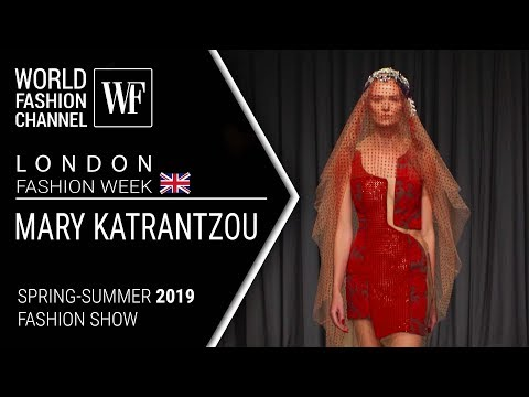 Mary Katrantzou | Spring-summer 2019 London fashion week