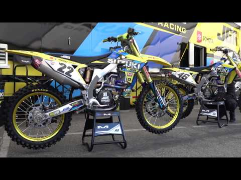Factory Flyers   Chad Reed's JGR Suzuki RM-Z450