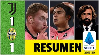 Juventus 1-1 Hellas Verona. Sin Cristiano Ronaldo, le sigue costando ganar a los de Pirlo | Serie A