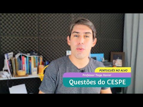 QUESTÕES de PORTUGUÊS do CESPE/CEBRASPE