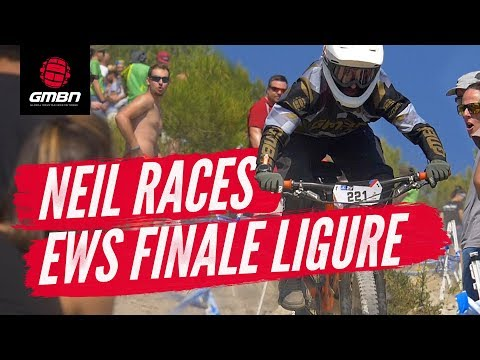 Neil Races The Enduro World Series, Finale Ligure |  Neil's EWS Diary Ep. 5:  The Big Race
