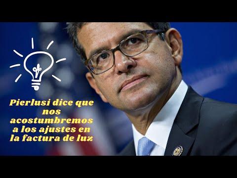 Pedro Pierluisi dice que hay que acostumbrarse al aumento de luz