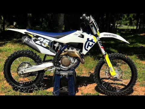 First Ride 2019 Husqvarna FC250 - Motocross Action Magazine