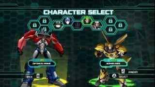 Transformers Prime Optimus Prime Vs Bumblebee (Pc Gameplay)