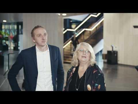 Intervju med Martin Schibbye & Brit Stakston på Mynewsday 2016