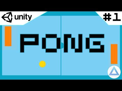 Como hacer PONG en UNITY, Tutorial!🏓