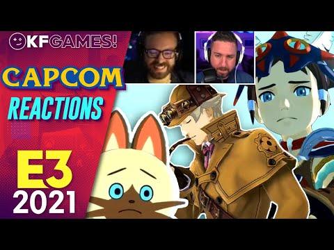 Capcom Showcase E3 2021 Kinda Funny Live Reactions