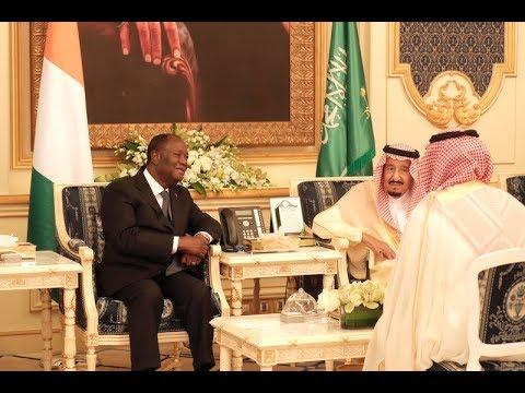 Le Président Alassane OUATTARA a eu un entretien avec le Roi d'Arabie Saoudite, à Djeddah