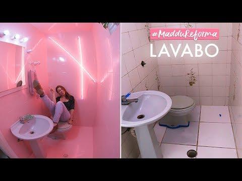 #MadduReforma Lavabo DIY Transformação Completa!