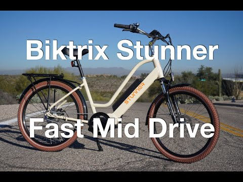 Biktrix Stunner Fast eCrusier Electric Bike Review | Electric Bike Report