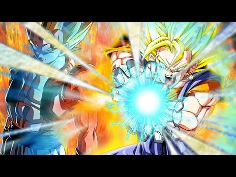 THE PERFECT FUSION!! LR GOGETA & LR VEGITO