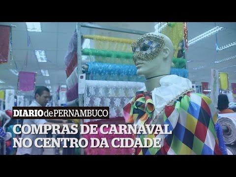 Centro do Recife preparado para as compras de carnaval
