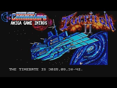 Amiga Game Intro: Turrican II - The Final Fight (Factor 5/Rainbow Arts, 1991)