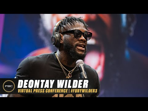 Deontay Wilder Virtual Press Conference | Full Replay