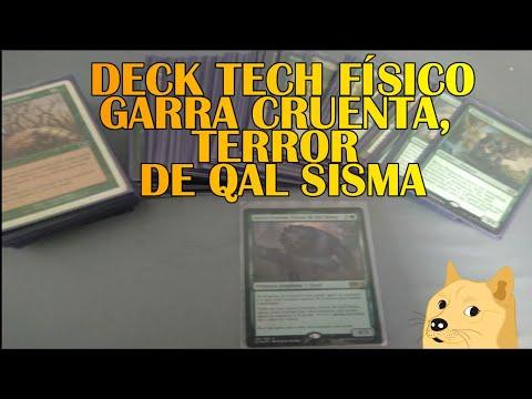 """""""Deck Tech Físico""""  Garra Cruenta, Terror de Qal Sisma"""