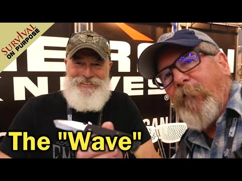 How Ernest Emerson Invented The Wave -  Blade Show 2021