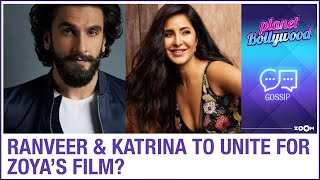 Ranveer Singh and Katrina Kaif to unite for Zoya Akhtar's remake of the film The Deparated - ZOOMDEKHO