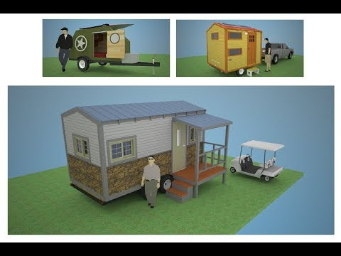 Design and Build Your Own Tiny House On Wheels or Teardrop Camper