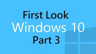 Windows 10 Technical Preview Part 3 - Performance Tests