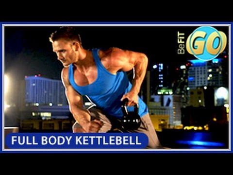 Full Body Strength Kettlebell Workout: BeFiT GO- 10 Mins