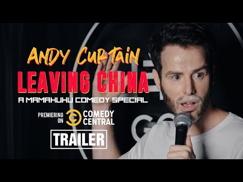 Andy Curtain | Leaving China (TRAILER)