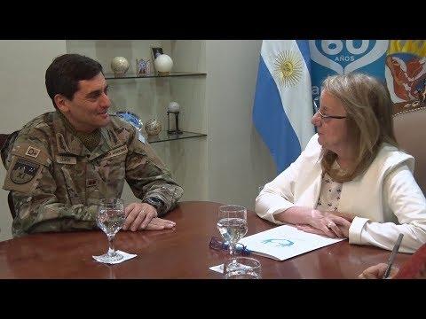 Alicia recibió al nuevo comandante de la XI Brigada Mecanizada