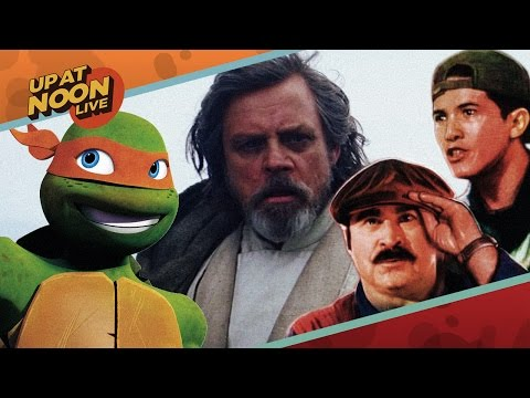 2017's Biggest Movies, Star Wars Episode 8 Rumors, & Missing Ninja Turtle Games - Up At Noon Live!