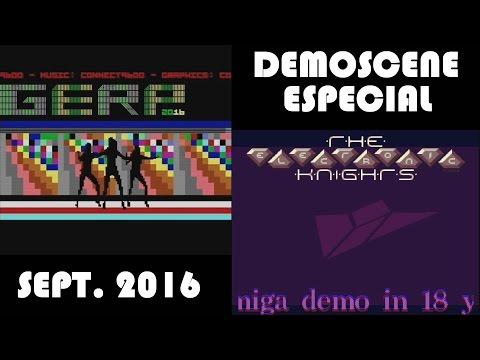 Especial Demoscene Septiembre 2016 C64 y Amiga