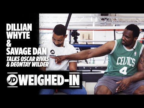 jdsports.co.uk & JD Sports Voucher Code video: Dillian Whyte Talks Oscar Rivas, Deontay Wilder, Being an Inspiration w/ Savage Dan | JD Weighed-In