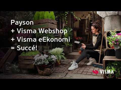 Betalning med Payson vid integration till Visma Webshop & Visma eEkonomi