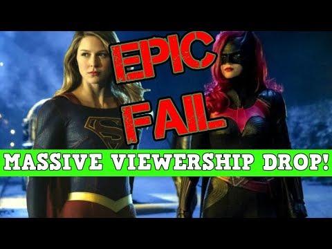 Batwoman Ratings TANK! Huge Drop Week 2! DC's Biggest FAIL