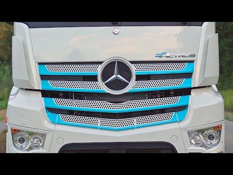 Mercedes eActros (2019) FULLY ELECTRIC TRUCK