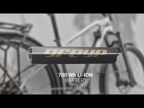 Greyp T5 e-SUV 700Wh Battery | Greyp Bikes