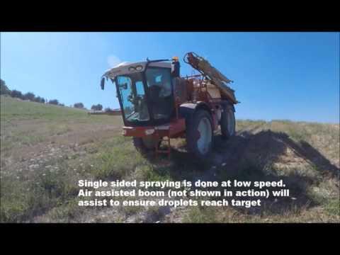 Croplands Grimpeur 3000 Litre Self Propelled Sprayer
