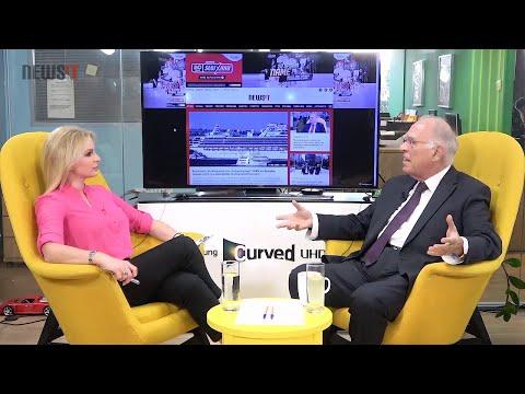 Ο Βασίλης Λεβέντης στο Newsit.gr με τη Μάγδα Τσέγκου (22-2-2020)
