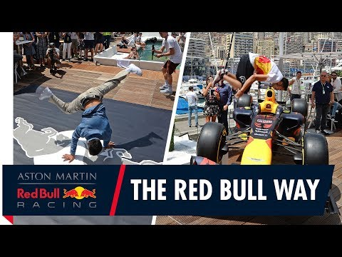 In Monaco, we bring the party the Red Bull way!