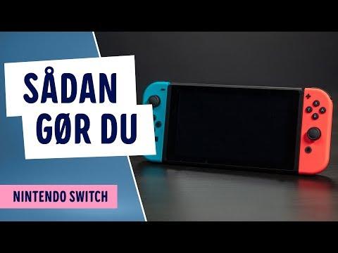 Sådan spiller du multiplayer på Nintendo Switch
