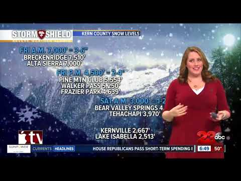 connectYoutube - 23ABC Storm Shield Forecast 1/19/18
