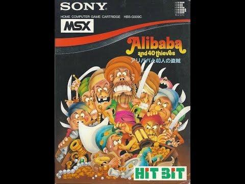 Pequeño análisis y gameplay de Ali Baba and 40 thieves (MSX) - 1984 ICM/Sony