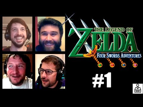 Zelda Four Swords Adventures #1 - 4 players