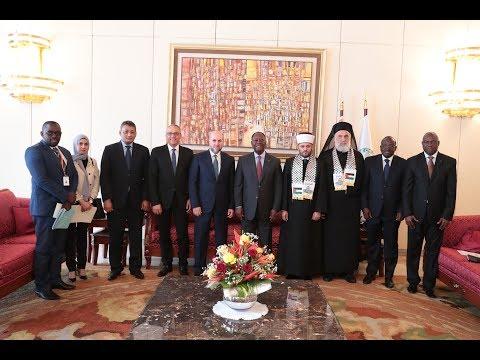 Le Chef de l'Etat a échangé avec un Emissaire du Président de l'Etat de Palestine