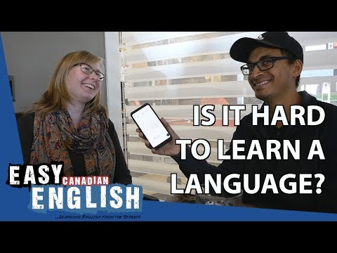 What's the Hardest Part of Learning a Language? | Easy English 34 photo