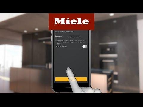 Installera WiFiConn@ct på iOS-enheter – integrerad modul I Miele
