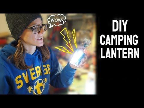 How to make a camping lantern (DIY)