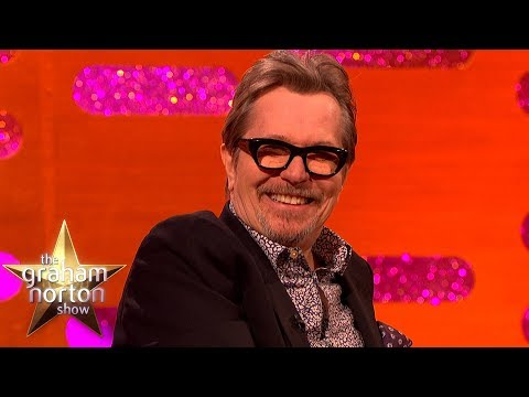 Gary Oldman as Winston Churchill Dancing as James Brown! | The Graham Norton Show
